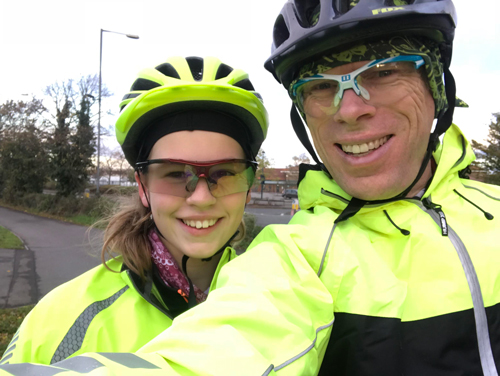 Year 8 pupil prepares for 1,000-mile charity bike ride