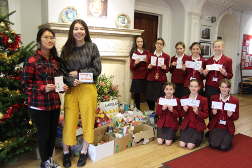 Redmaids' High students make their caring count