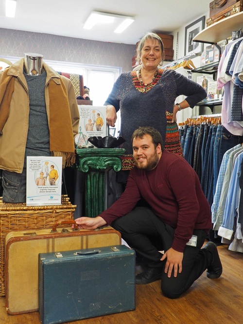 £2m in two decades - proud  record for the hospice shop
