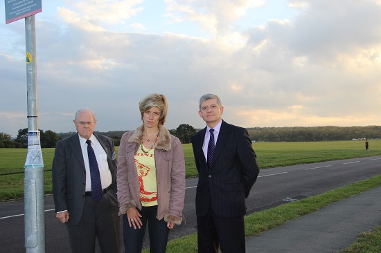 Charlotte Leslie with Stoke Bishop councillors